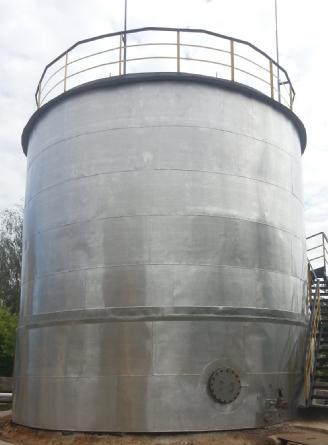 РВС-100 резервуар вертикальный стальной – Фото