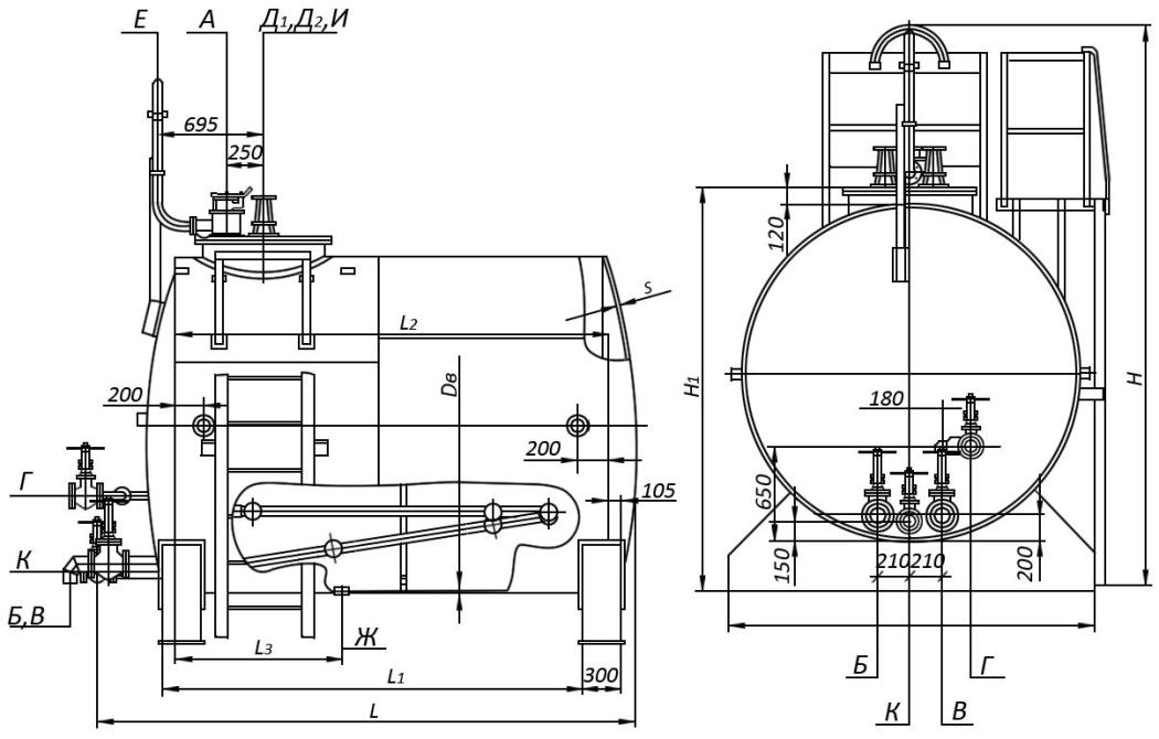 Схема РГС 100