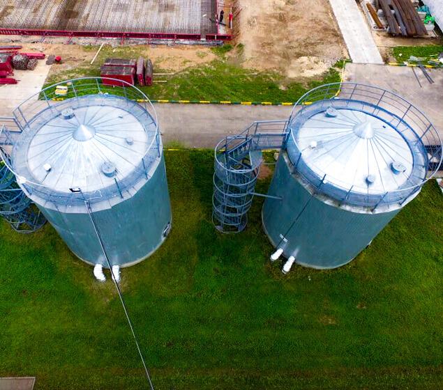 Два резервуара для технической воды